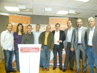 Ciutadans (C's) presenta a los candidatos del Baix Llobregat