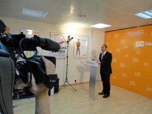 Jordi Cañas: 'La PPvergencia va a suponer más recortes sociales y menos libertades'