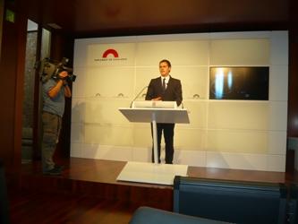 Albert Rivera: 'Ciutadans dice no a los presupuestos de los recortes sociales de CiU'