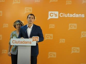 Albert Rivera: 'La propuesta de CiU de pagar por territorio es interesada, irresponsable y egoísta'