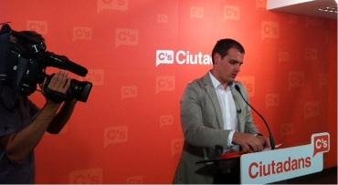 Albert Rivera: 'Para comprar medicinas, llenar el depósito y, si te gustan, ir a ver los toros tendremos que ir a Aragón o a Valencia'