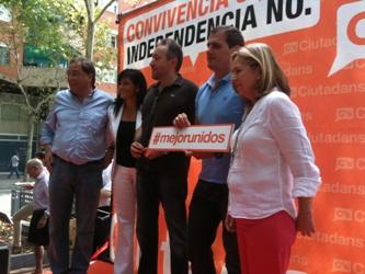 Albert Rivera: 'Los políticos separatistas provocarán un conflicto civil y económico si no lo evitamos'