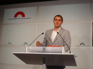 Albert Rivera: 'Tenemos un Govern insumiso un año después de la sentencia del TC sobre el Estatut'